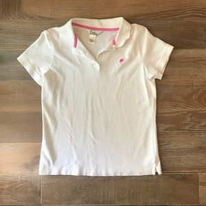Lilly Pulitzer Tops - 🌸Lilly Pulitzer White Shirt